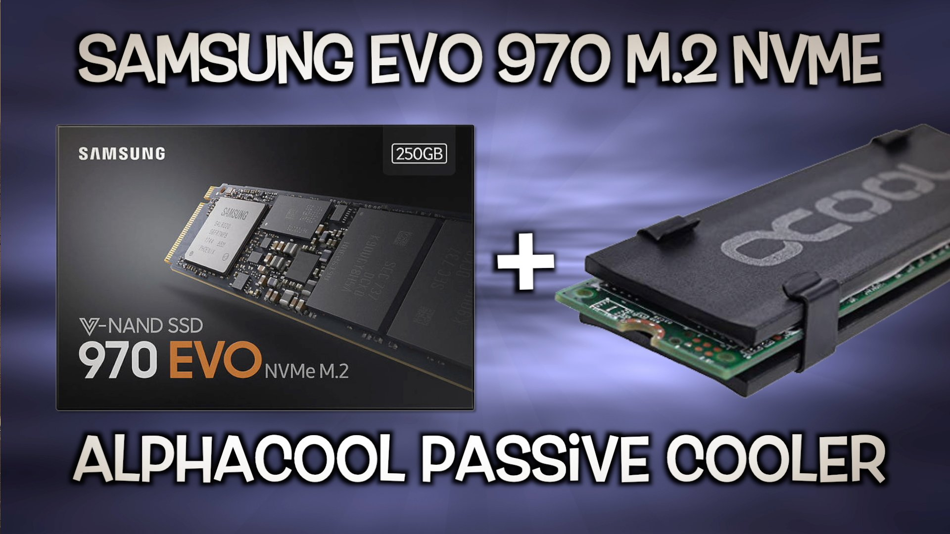 Passive Cooler for M.2 NVME SSD | Unboxing + Installation + Temp Results