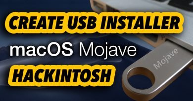 HACKINTOSH GUIDE - Create macOS Mojave USB Installer Boot Flash