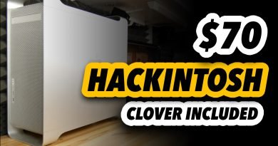 To Build a Hackintosh Never Was Easier! i3 4330 - Clover Included