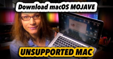 How To Download macOS Mojave Installer on Unsupported Mac