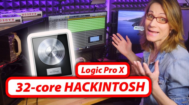 AMD Threadripper 32-core HACKINTOSH - Logic Pro X Performance