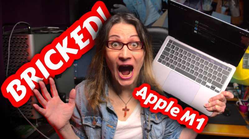 BRICKED Apple M1 MacBook Pro - Don't Do This!