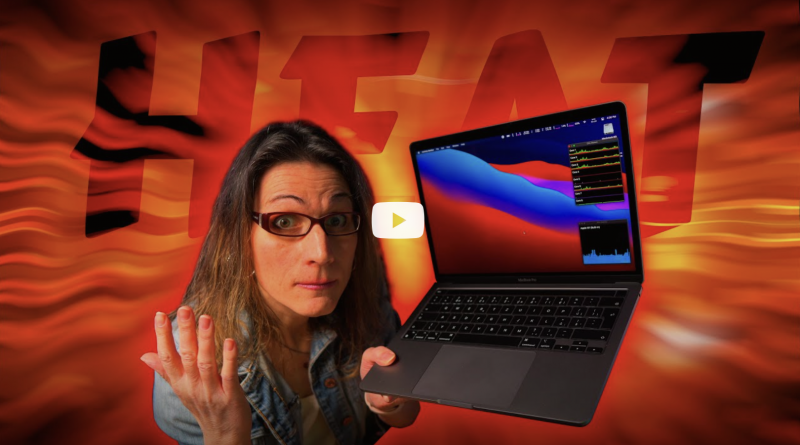 Shocking Truth about Apple M1 MacBook Pro - Melting Down at 100C