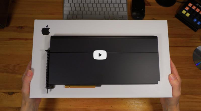 Apple Afterburner Accelerator Card | Unboxing