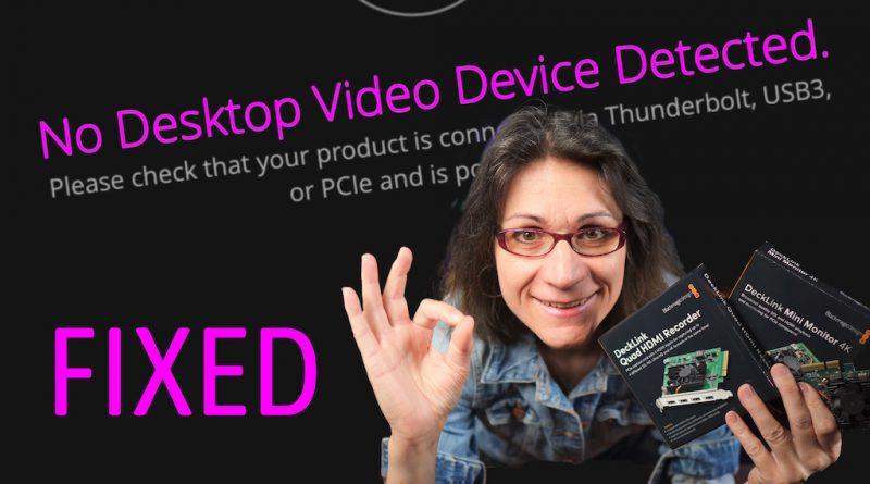 FIX for Blackmagic Desktop Video on macOS Big Sur - Step By Step