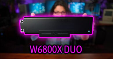 Apple AMD Radeon Pro W6800X DUO for 2019 Mac Pro Unboxing